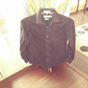 Boys Slim Fit Button Down Shirt